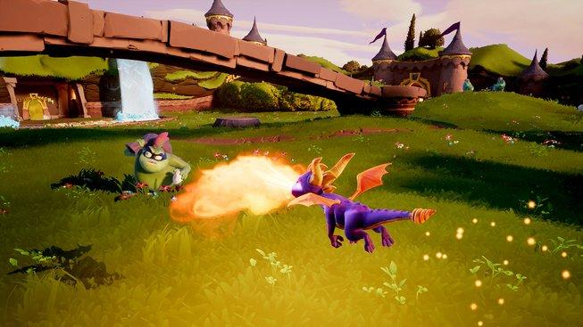 Spyro porovnávací obrázky