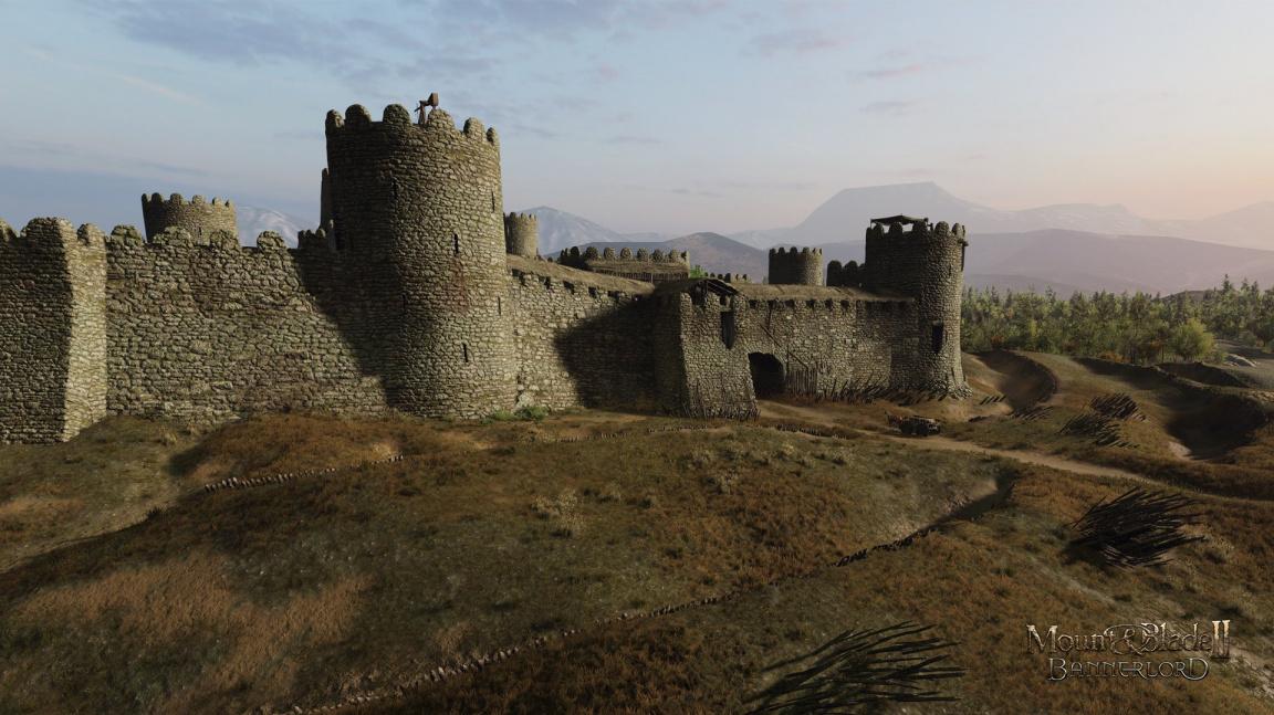 Mount & Blade II: Bannerlord předvádí obléhací prostředky a vylepšování hradů