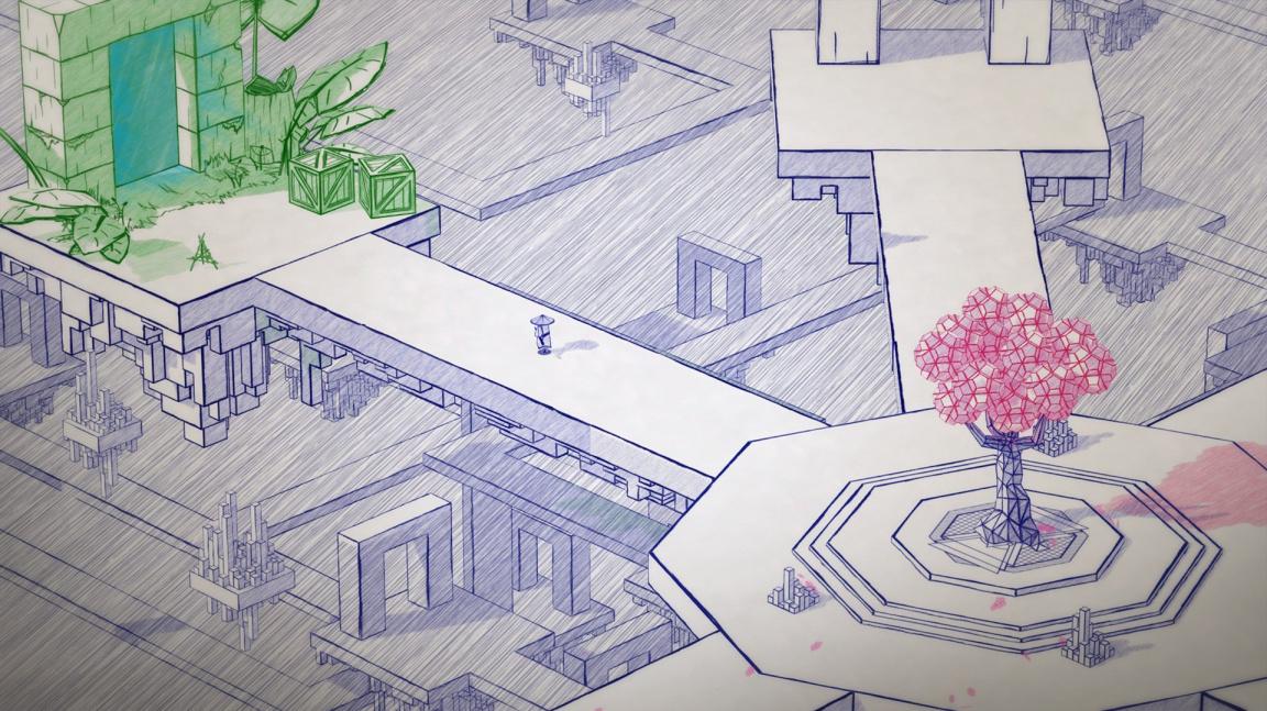 V adventuře Inked skicujete milostný příběh plný zrady a pomsty