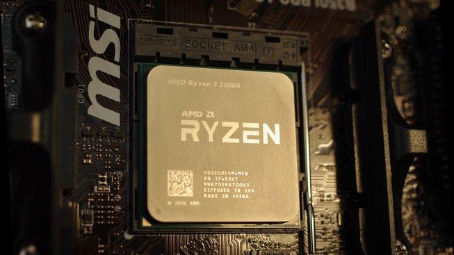 AMD Ryzen 3 2200 G v základní desce