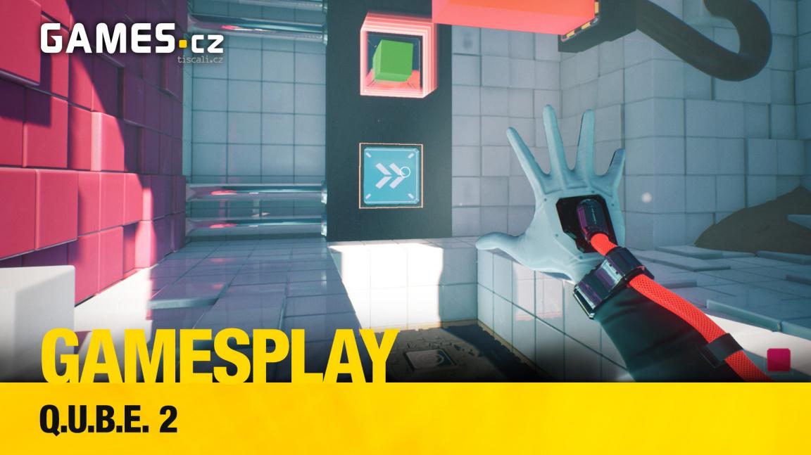 GamesPlay – hrajeme logickou adventuru Q.U.B.E. 2