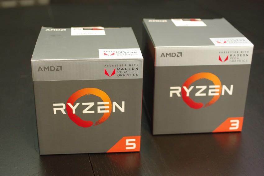 Test AMD Ryzen 5 2400G a 3 2200G