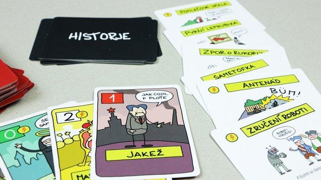 Opráski sčeskí historje – Karetní hra