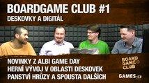 BoardGame Club #1: Deskovky a digitální svět s Honzou Vaněčkem