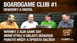 BoardGame Club #1: Deskovky a digitál s Honzou Vaněčkem