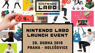 V sobotu si můžete v Praze vyzkoušet Nintendo Labo