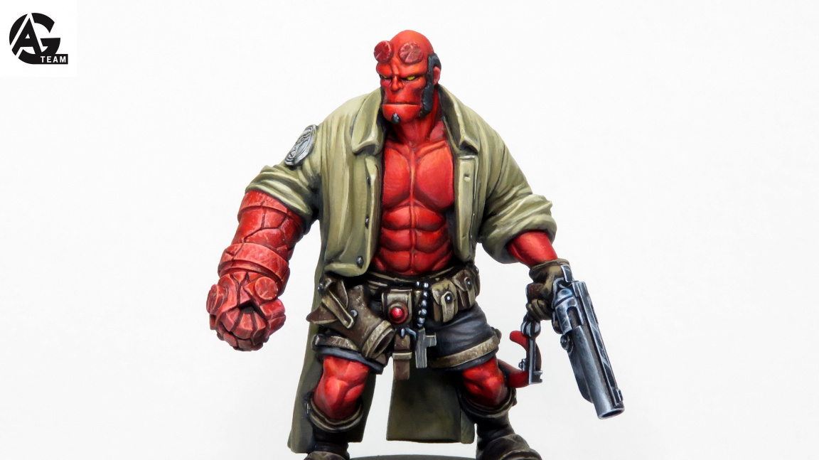 Deskovkový duben - Hellboy útočí