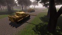 V druhoválečné strategii Battle Fleet: Ground Assault režírujete každý tank zvlášť