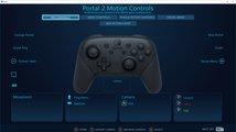 Steam oficiálně podporuje Switch Pro Controller včetně gyroskopu