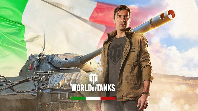 Gianluigi Buffon vstoupil do světa World of Tanks PC