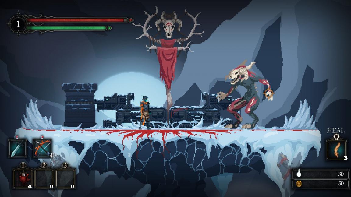 Akční RPG Death's Gambit s nesmrtelnými bossy vyjde během letních prázdnin