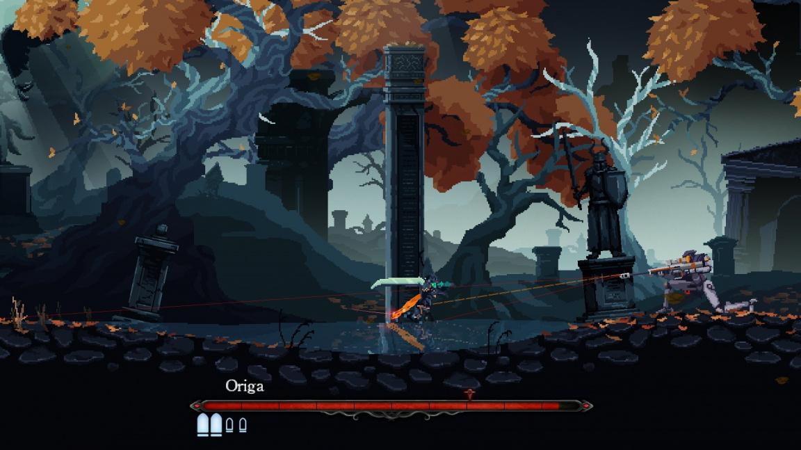 Akční RPG plošinovka Death's Gambit ukazuje střípky hratelnosti