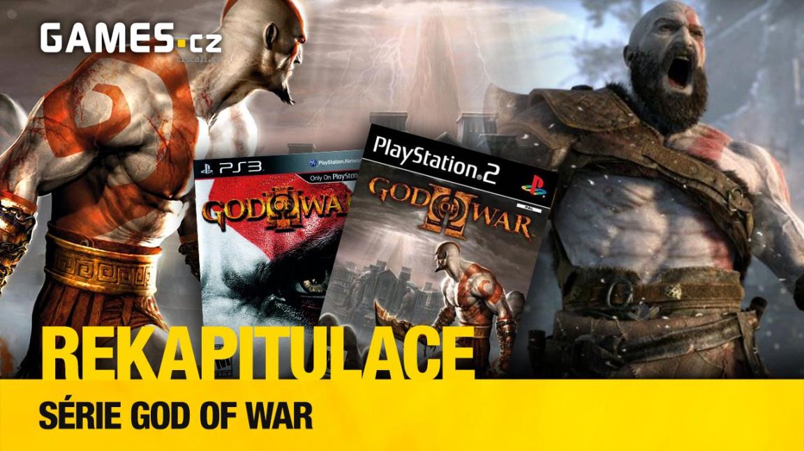 Rekapitulace – kam kráčí Kratos v sérii God of War