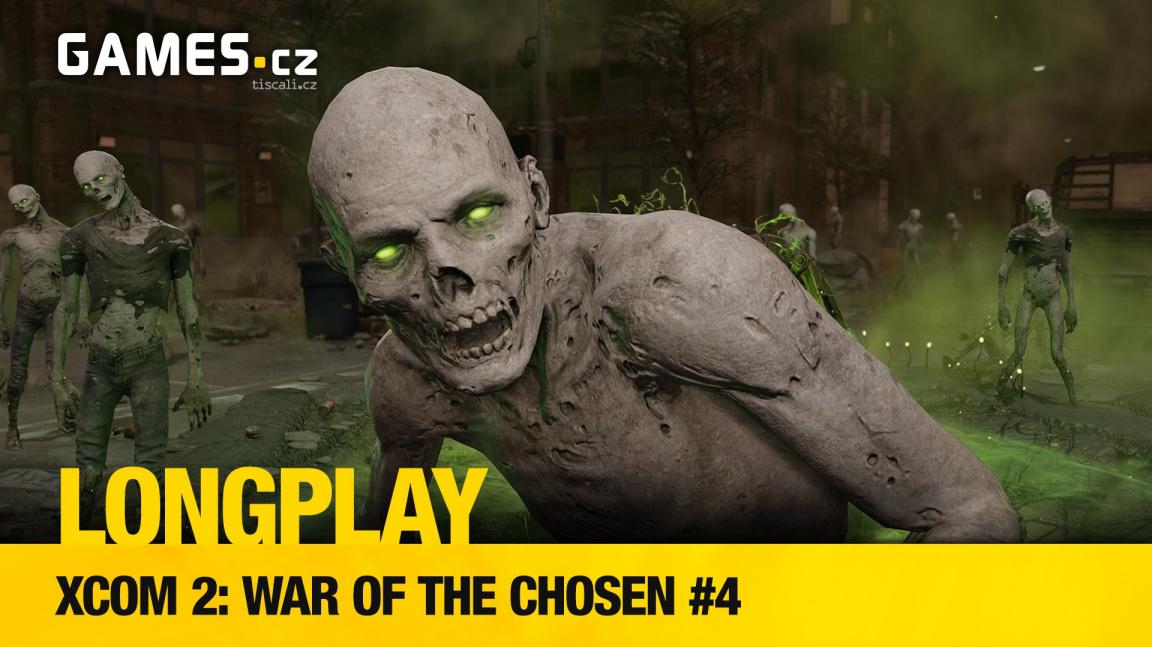 LongPlay - XCOM 2: War of the Chosen #4: umíráme s Lukášem & Šárkou