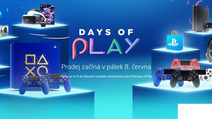 PlayStation chystá zajímavé slevy her, ovladačů i virtuální reality