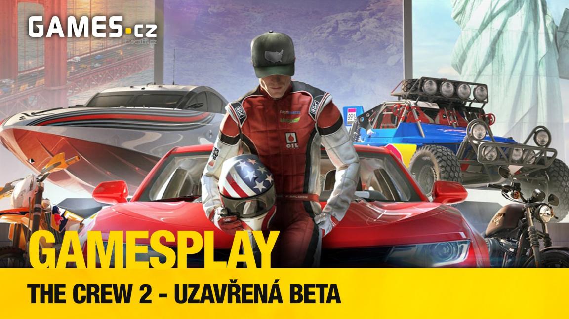 GamesPlay - hrajeme uzavřenou betu závodní arkády The Crew 2