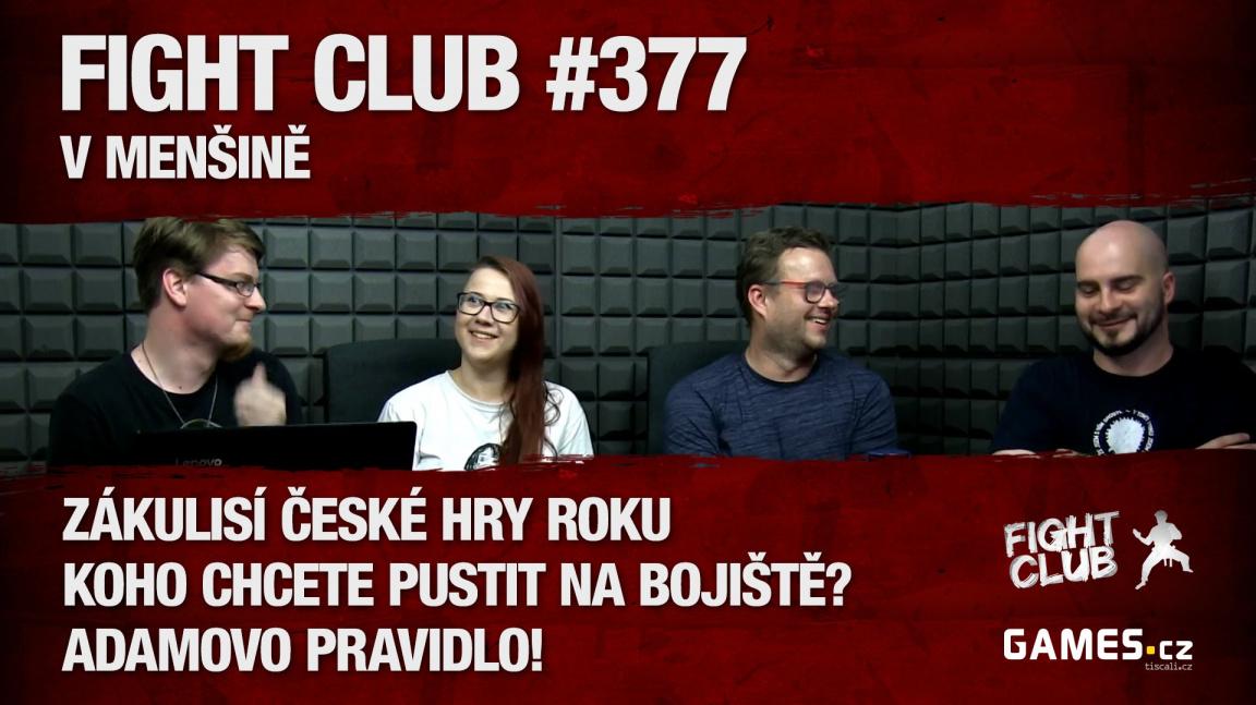 Fight Club #377: V menšině