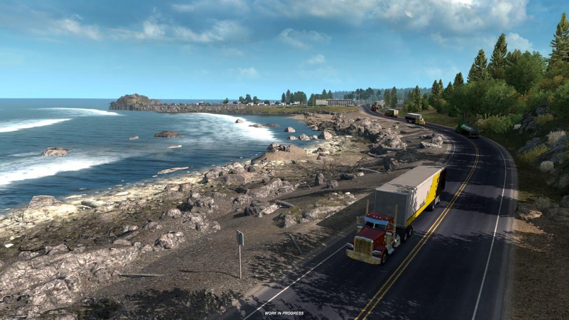 Konec vyprahlým pouštím. Za pár dní dorazí zalesněný Oregon pro American Truck Simulator