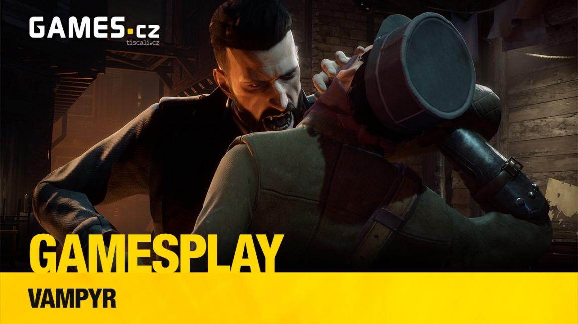 GamesPlay – hrajeme upírské RPG Vampyr