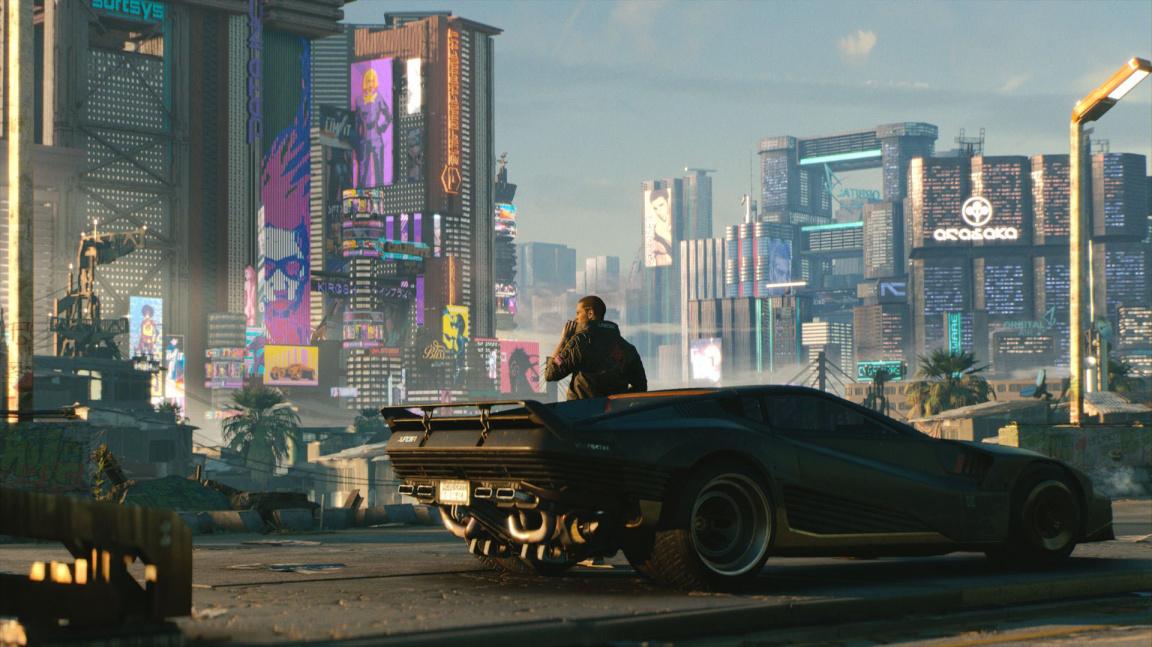 Cyberpunk 2077 vám nedovolí řídit létající auta a nenabídne mikrotransakce