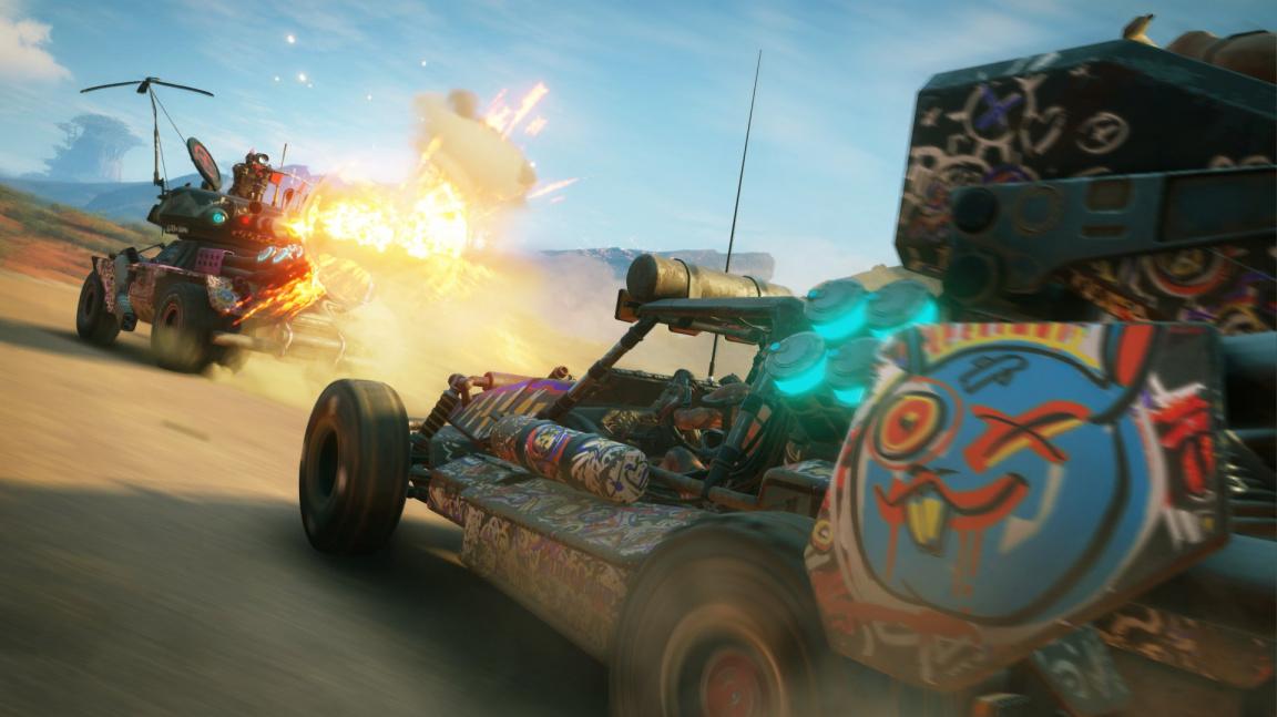 Rage 2 představuje otevřený svět plný magorů v obrněných kamionech
