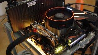 RGB LED chladiče AMD Ryzen