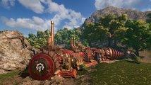 Česká hra Volcanoids vás posadí do obřího obrněného vrtáku