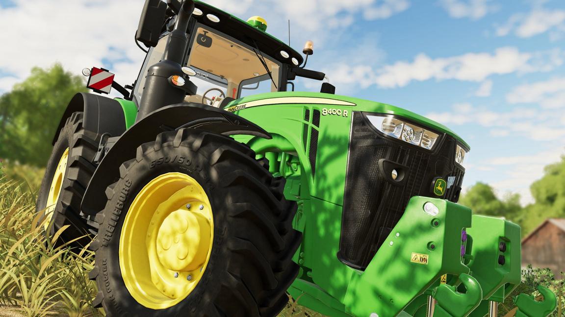 Farming Simulator 19 předvádí stroje, kterými se svezete už za dva týdny
