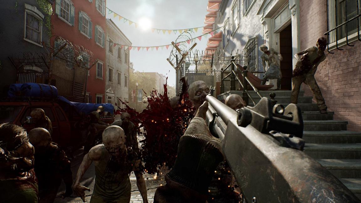 Čtyřčlenný koop se zombíky? Overkill's The Walking Dead vyzývá Left 4 Dead