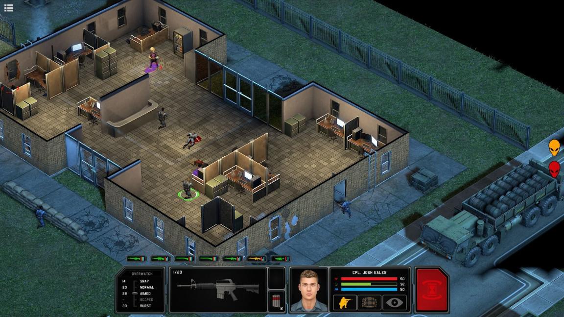 Tahová strategie Xenonauts 2 je úspěšná na Kickstarteru