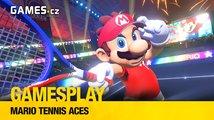 GamesPlay - hrajeme sportovní taškařici Mario Tennis Aces