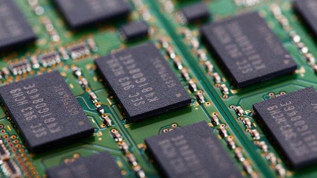 Paměťové čipy
