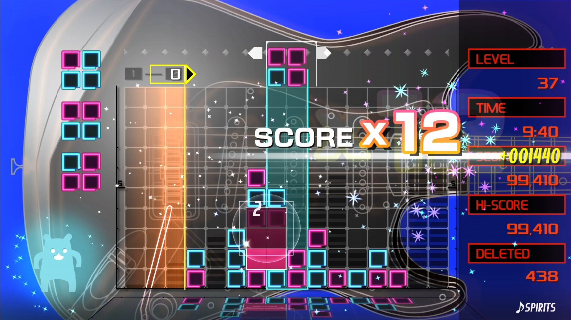 Chytlavá hudební puzzle klasika Lumines se vrací na PC i konzole