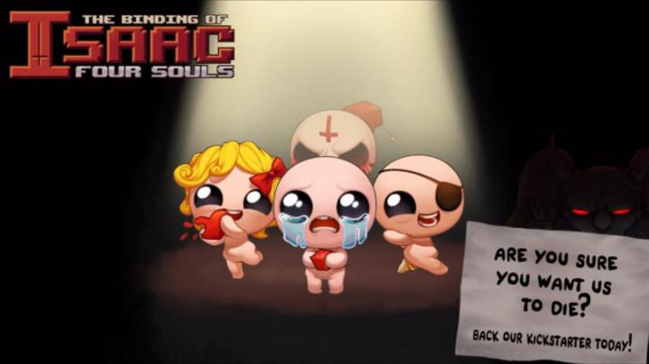 Stolní hra The Binding of Isaac slaví obrovský úspěch na Kickstarteru