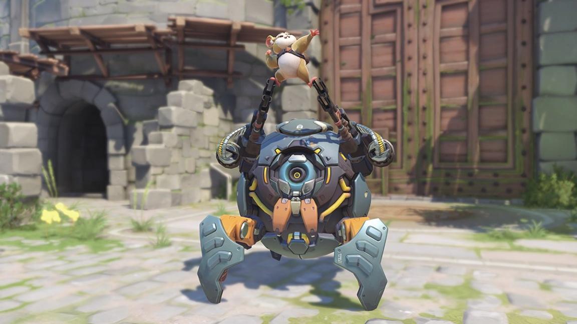 Overwatch brzy rozšíří nový hrdina: křeček v roli tanka
