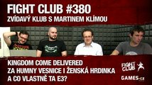 Fight Club #380: Zvídavý klub s Martinem Klímou