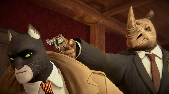 Dojmy z Gamescomu: Blacksad není příští The Wolf Among Us, ale jen špatná detektivka