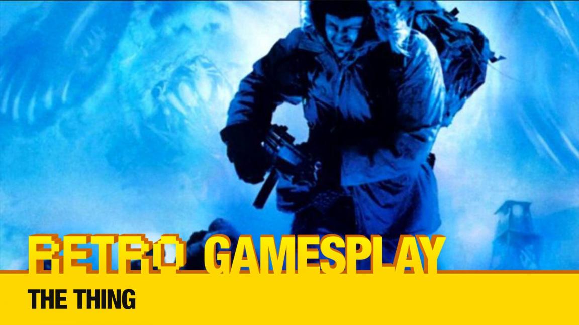 Retro GamesPlay – hrajeme mrazivý horor The Thing
