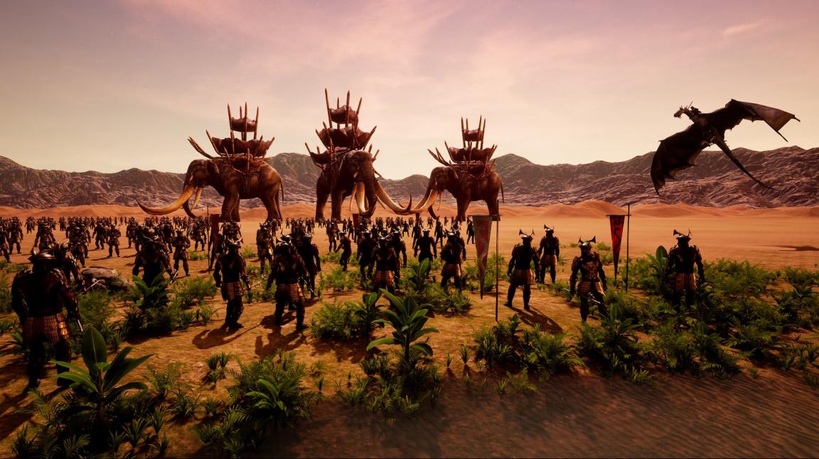 Remake strategie The Battle for Middle-earth vypadá krásně