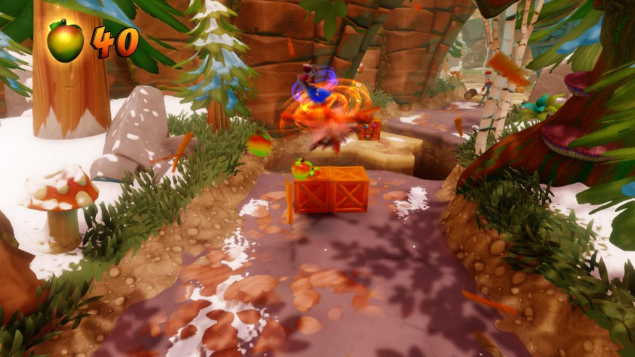 Crash Bandicoot N. Sane Trilogy - Switch verze