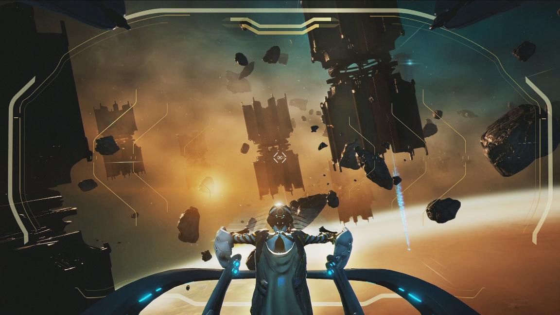 Warframe přidává lodní bitvy a další otevřenou oblast