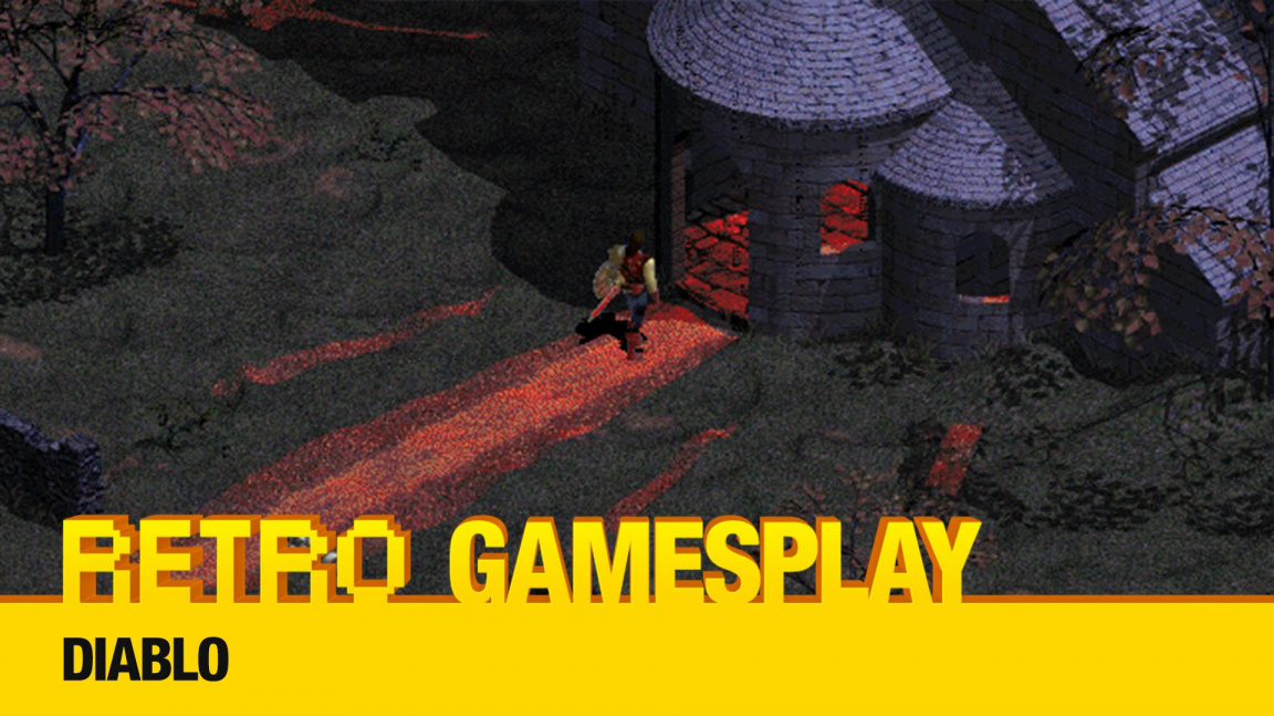 Retro GamesPlay – hrajeme zakladatele žánru hack and slash RPG, legendární Diablo
