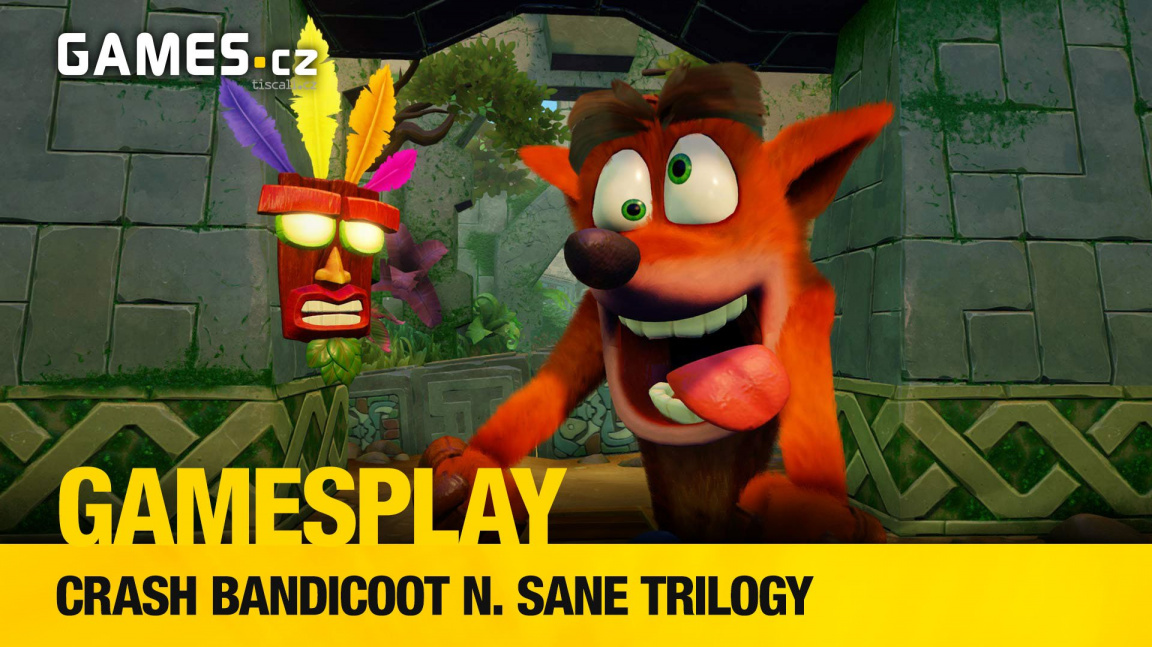 GamesPlay – hrajeme PC verzi luxusního remaku Crashe Bandicoota