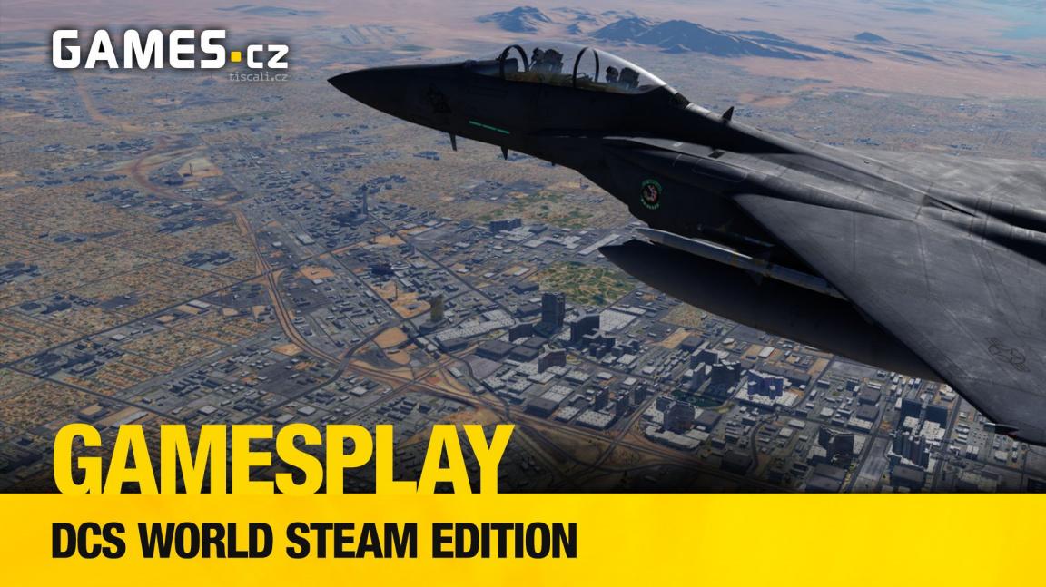 Čtenářský GamesPlay – hrajeme komplexní vojenský simulátor DCS World