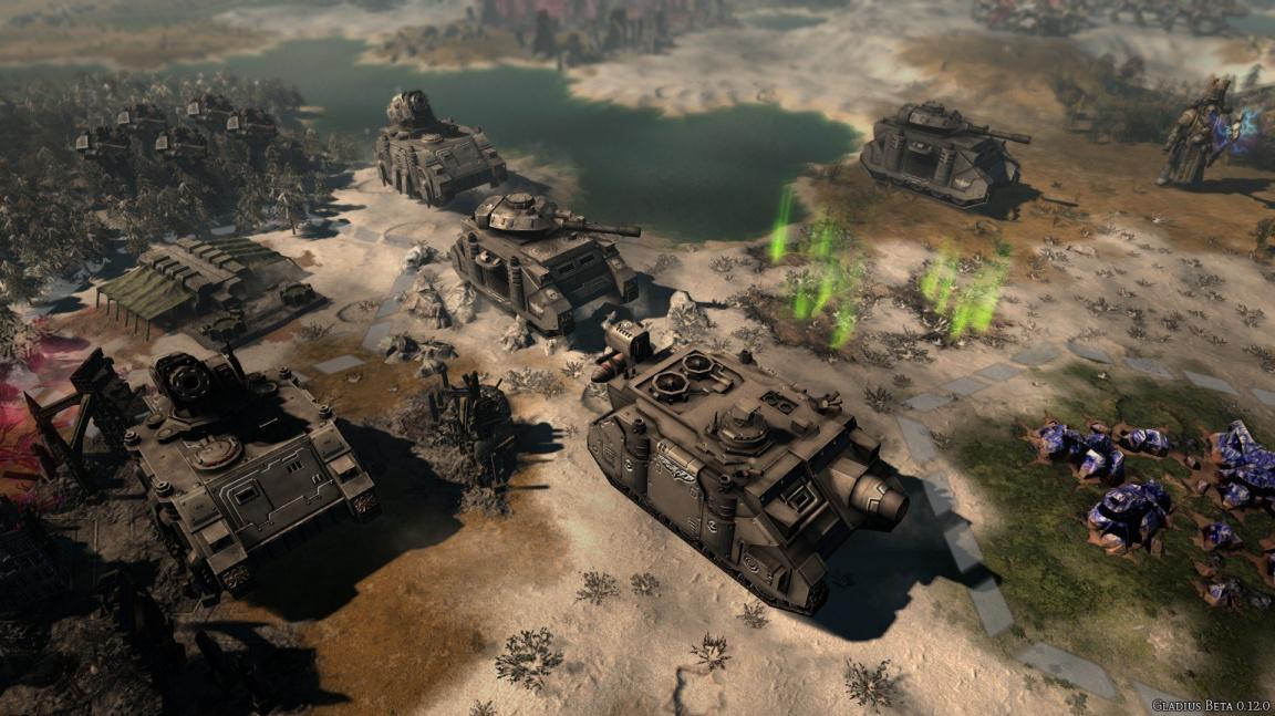 Vyšla další hra ze světa WH40K: hexová strategie Gladius – Relics of War