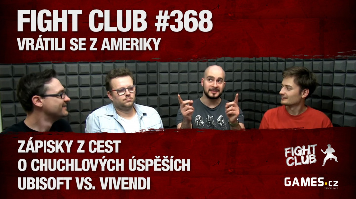 Fight Club #368: Vrátili se z Ameriky