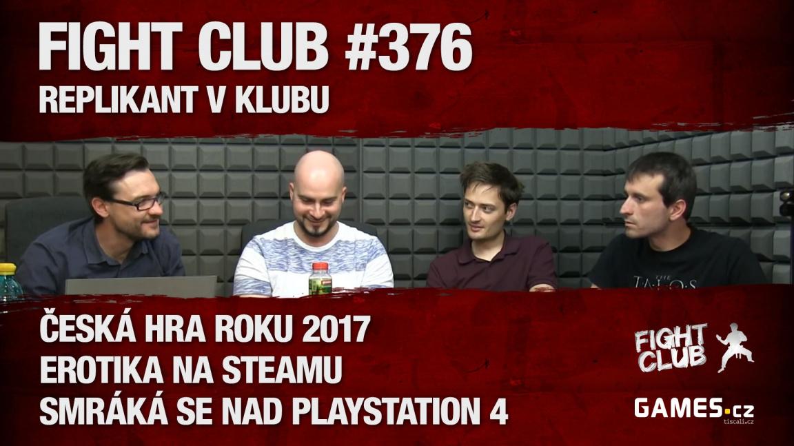 Fight Club #376: Replikant v klubu