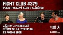 Fight Club #379: PostEtrojkový klub s Alžbětou