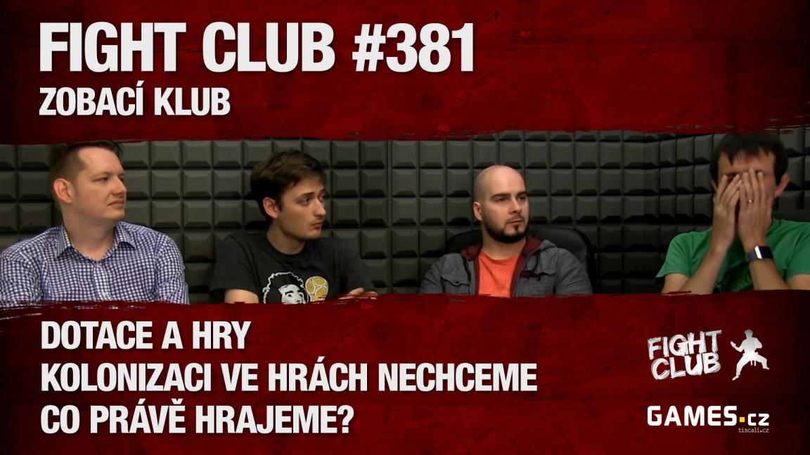 Fight Club #381: Zobací klub