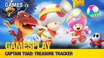 GamesPlay – hrajeme sympatickou puzzle plošinovku Captain Toad: Treasure Tracker